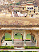 Garden pavilion outside the Amber Palace, Amer, Rajasthan