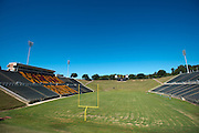 A general view of Eddie Robinson Stadium at Grambling State University in Grambling, Louisiana on October 23, 2013.  (Cooper Neill for The New York Times)