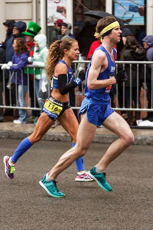 Boston Marathon: Adam Goode of Bangor, Maine