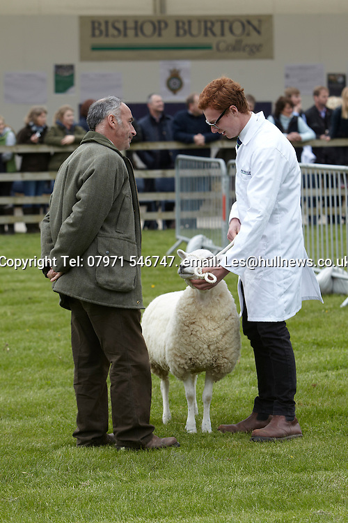 9th May 2015<br /> The Bishop Burton College Stockmanship Day 2015