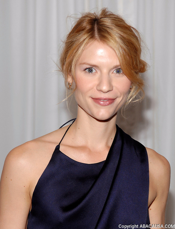 Actress Claire Danes poses at the 40th Annual Party In The Garden at the Museum of Modern Art in New York City, USA on June 10, 2008.