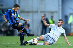 September 14, 2017 - Reggio Emilia, Italy - Morgan Schneiderlin of Everton tackling on Alejandro Gomez of Atalanta  during the UEFA Europa League Group E football match Atalanta vs Everton at The Stadio Città del Tricolore in Reggio Emilia on September 14, 2017. (Credit Image: © Matteo Ciambelli/NurPhoto via ZUMA Press)