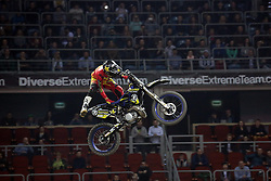 20.03.2015, Tauron Arena, Krakau, POL, Diverse night of the Jumps, FMX Weltmeisterschaft 2015, im Bild ROB ADELBERG – AUSTRALIA // during the diverse night of the jumps FMX world championchip 2015 at the Tauron Arena in Krakau, Poland on 2015/03/20. EXPA Pictures © 2015, PhotoCredit: EXPA/ Newspix/ MAREK KLIMEK/NEWSPIX.PL<br /> <br /> *****ATTENTION - for AUT, SLO, CRO, SRB, BIH, MAZ, TUR, SUI, SWE only*****