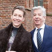 NLD/Naarden/20160325 - Mattheus Passion 2016 Naarden, Ronald Plasterk en partner Els Beumer