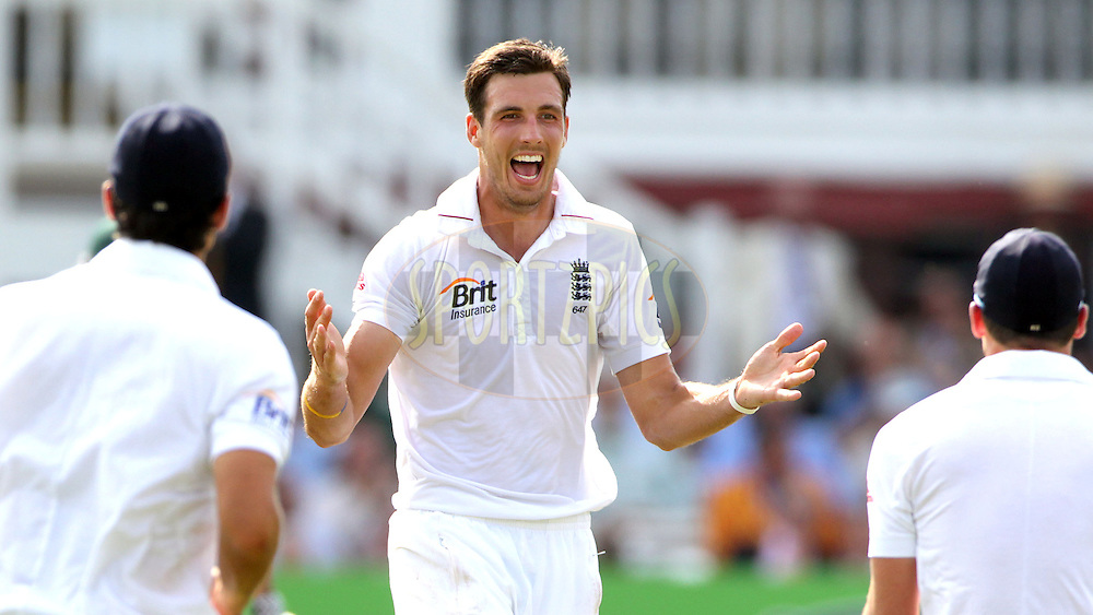 © Andrew Fosker / Seconds Left Images 2012 -  England's Steven Finn (centre) celebrates the wicket of South Africa's Jacques Rudolph  out for 11 runs caught England's Matt Prior (WK)  England v South Africa - 3rd Investec Test Match - Day 4 - Lord's Cricket Ground - 19/08/2012 - London - UK - All rights reserved