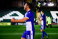 Luke Leahy of Bristol Rovers after the final whistle of the match - Mandatory by-line: Ryan Hiscott/JMP - 17/12/2019 - FOOTBALL - Home Park - Plymouth, England - Plymouth Argyle v Bristol Rovers - Emirates FA Cup second round replay