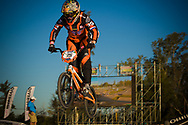 # 75 (VAN BENTHEM Merle) NED at the UCI BMX Supercross World Cup in Santiago del Estero, Argintina.