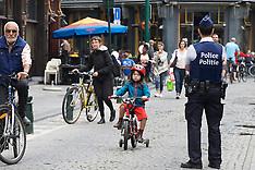 Belgium: Car Free Sunday in the Brussels Capital region, 18 September 2016
