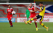Crawley Town v Fleetwood Town 13/09/2014