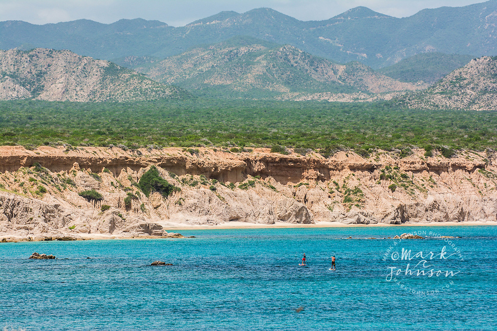 Stand Up Paddle Boarding, Cabo Pulmo, Baja California Sur, Mexico