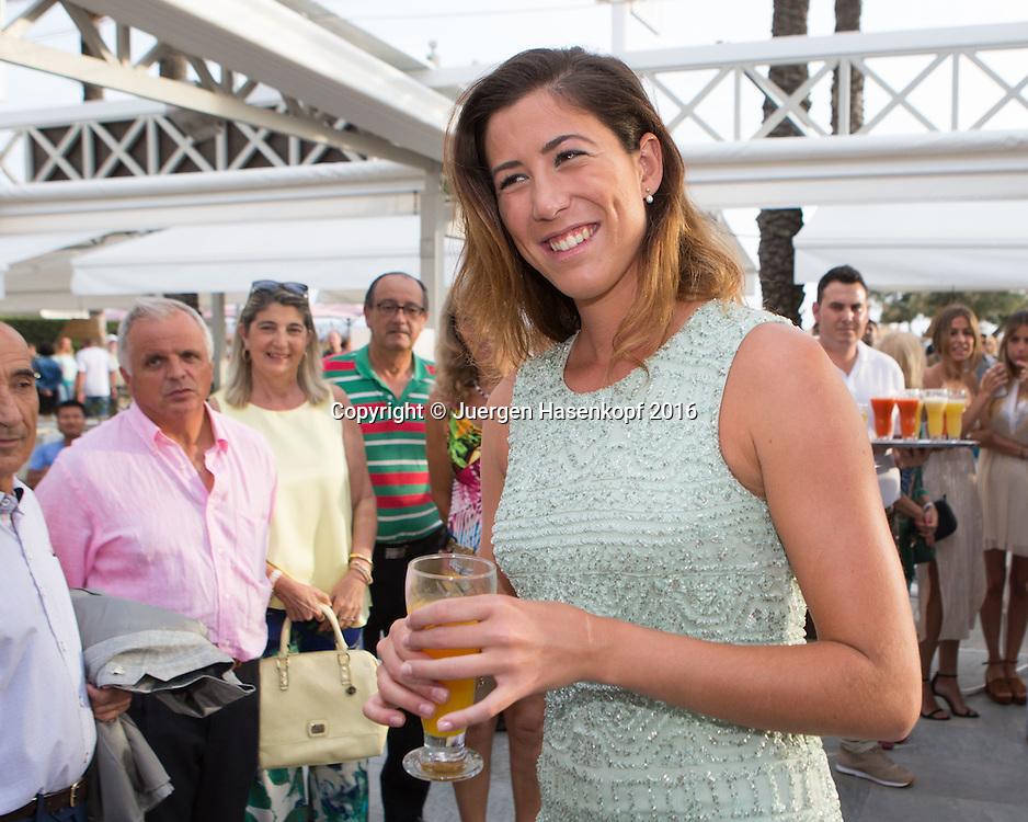 Mallorca Open Players Party, ) Garbine Muguruza (ES)<br /> <br /> Tennis -  -  WTA -  Hotel Playa Golf - Playa de Palma  -  - Spanien  - 12 June 2016.