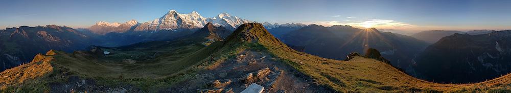360° Panorama Männlichen