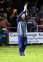 Photo: Dave Linney.<br />Crewe Alexandra v Norwich City. Coca Cola Championship.<br />10/12/2005.Nigel Worthington takes the applause from the fans at the end of the game.