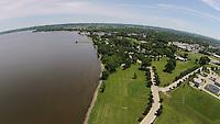 Lakeside Park, aerial,tav,drone,park,lakeside.  June 2, 2015. Patrick Flood Photography