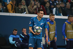 November 5, 2019, Saint-Petersburg, Russia: Russian Federation. Saint-Petersburg. Gazprom Arena. Football. UEFA Champions League. Group G. round 4. Football club Zenit - Football Club RB Leipzig. Player of Zenit football club Vyacheslav Karavaev (Credit Image: © Russian Look via ZUMA Wire)