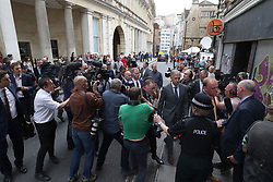 England cricketer Ben Stokes leaving Bristol Crown Court where he has been found not guilty of affray following a brawl hours after England played the West Indies in a one-day international in the city in September last year.