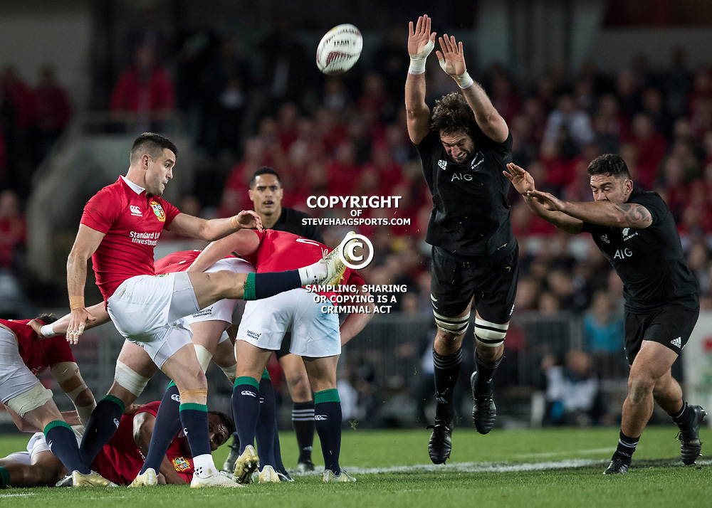 Conor Murray during game 7 of the British and Irish Lions 2017 Tour of New Zealand, the first Test match between  The All Blacks and British and Irish Lions, Eden Park, Auckland, Saturday 24th June 2017<br /> (Photo by Kevin Booth Steve Haag Sports)<br /> <br /> Images for social media must have consent from Steve Haag