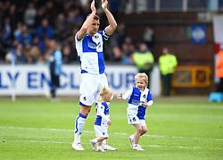Lee Brown says goodbye to Bristol Rovers - Mandatory by-line: Paul Knight/JMP - 28/04/2018 - FOOTBALL - Memorial Stadium - Bristol, England - Bristol Rovers v Gillingham - Sky Bet League One