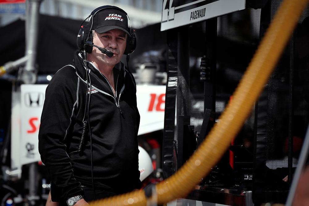 Kyle Moyer, Team Penske Chevrolet<br /> Friday 13 April 2018<br /> Toyota Grand Prix of Long Beach<br /> Verizon IndyCar Series<br /> Streets of Long Beach, California USA<br /> World Copyright: Scott R LePage<br /> LAT Images