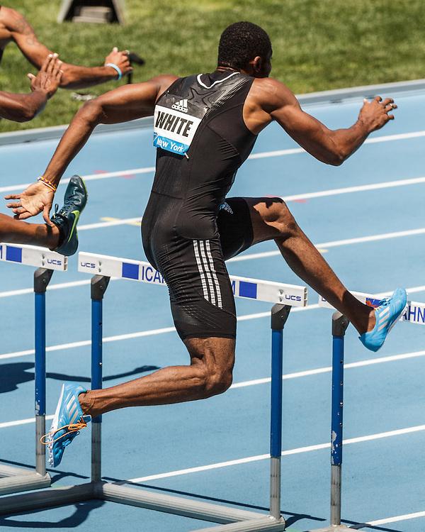 adidas Grand Prix Diamond League Track & Field: Men's 400m Hurdles, Annsert White, Jamaica