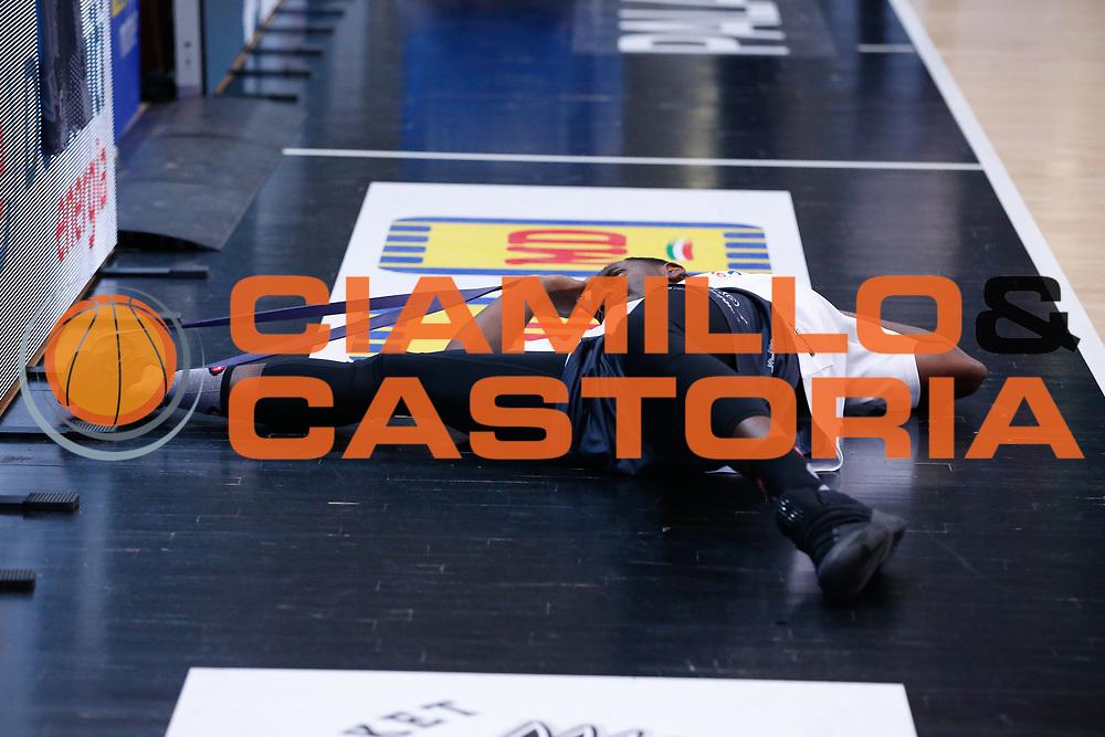 Dustin Hogue<br /> Dolomiti Energia Aquila Basket Trento - Umana Reyer Venezia <br /> Lega Basket Serie A 2016/17 Finali Gara 03<br /> Trento, 14/06/2017<br /> Foto Ciamillo-Castoria / M. Brondi