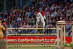 Van Roosbroeck Catherine, BEL, Gautcho Da Quinta<br /> CHIO Aachen 2017<br /> © Hippo Foto - Sharon Vandeput<br /> 20/07/2017