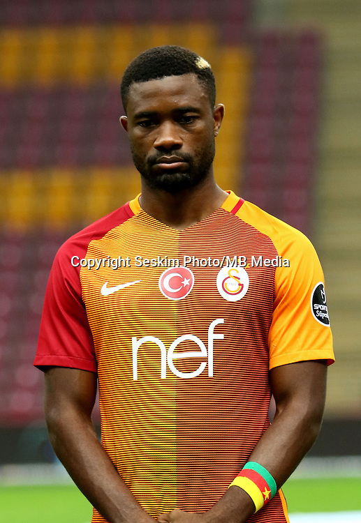 Turkey superlig match between Galatasaray and Kardemir Karabukspor at Turk Telekom Arena in Istanbul , Turkey , August 22  ,2016.<br /> Final Score : Galatasaray 1 - Kardemir Karabukspor 0<br /> Pictured: Aurelien Chedjou of Galatasaray .