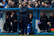 Everton Manager Roberto Martinez  during the The FA Cup fourth round match between Carlisle United and Everton at Brunton Park, Carlisle, England on 31 January 2016. Photo by Craig McAllister.