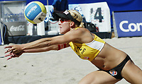 Volleyball, Sandvolleyball, World Tour Stavanger, Grand Slam, 30/06-05, Ingrid Tørlen, Foto: Halvard Hofsmo, Digitalsport