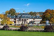 Schloss und Schlosspark Pillnitz, Bergpalais, Pillnitz, Dresden, Sächsische Schweiz, Elbsandsteingebirge, Sachsen, Deutschland | Pillnitz Castle and Gardens, mountain palais, Pillnitz, Dresden, Saxon Switzerland, Saxony, Germany