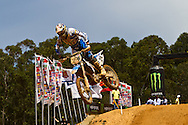 Agueda, Portugal, 5th May 2013, World Championship MX1, British Shaun Simpson with a TM, 11th race 1 and  10th in race 2