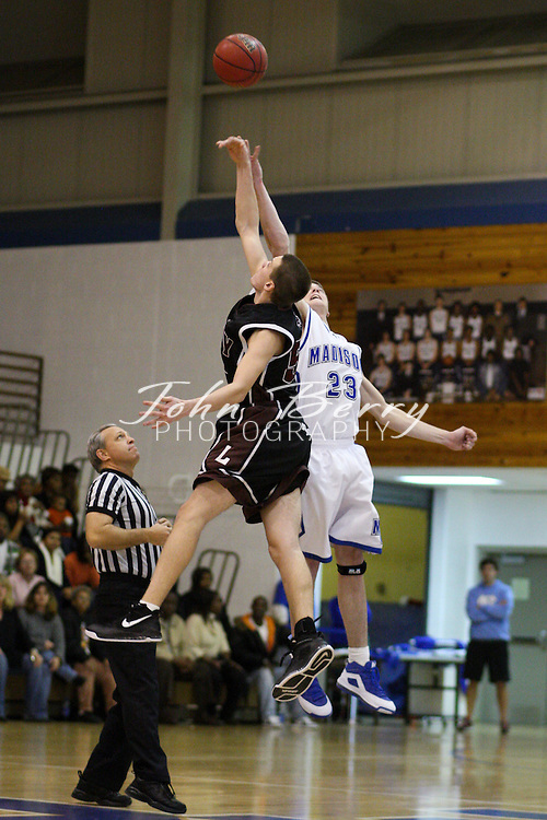 MCHS Varsity Boys Basketball .vs Luray .12/19/2008