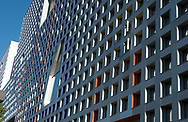 Simmons Hall, Architecture, Cambridge, Dormitory, MIT Massachusetts Institute of Technology,