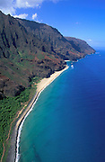 Kalalau, Napali Coast, Kauai, Hawaii, USA<br />