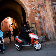 Morocco, marrakech , the old city medina  Marrakech  /  la medina de la vieille ville  Marrakech  Maroc