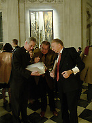 Canon Philip Buckler, Sergei Chepik and Godfrey Barker.  Sergei Chepik: St Paul's Cathedral - opening<br />St Paul's Cathedral, London, EC4, 6.30pmONE TIME USE ONLY - DO NOT ARCHIVE  © Copyright Photograph by Dafydd Jones 66 Stockwell Park Rd. London SW9 0DA Tel 020 7733 0108 www.dafjones.com