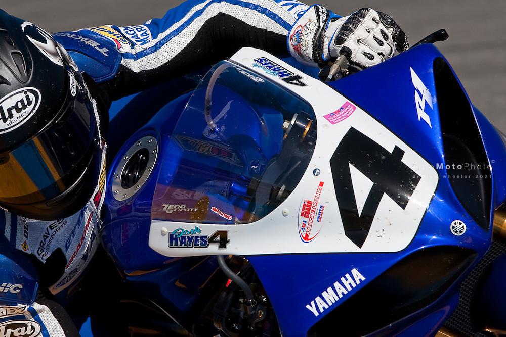 Josh Hayes, AMA Superbike Race One Winner