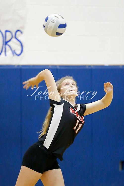 October 23, 2014.  <br /> MCHS JV Volleyball vs George Mason.  Madison wins 2-0.