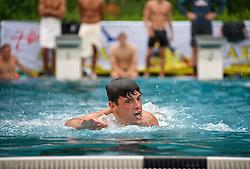 21.07.2014, Schwimmbad, Zell am Ziller, AUT, SV Werder Bremen Trainingslager, im Bild Zlatko Junuzovic (SV Werder Bremen #16) beim Schwimmen // during the Preparation Camp of the German Bundesliga Club SV Werder Bremen at the Schwimmbad in Zell am Ziller, Austria on 2014/07/21. EXPA Pictures © 2014, PhotoCredit: EXPA/ Andreas Gumz<br /> <br /> *****ATTENTION - OUT of GER*****