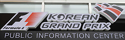 13.10.2011, Korea-International-Circuit, Yeongam, KOR, F1, Großer Preis von Südkorea, Yeongam, im Bild. Korean F1 Grand Prix Impressions// during the Formula One Championships 2011 Large price of Korea held at the Korea-International-Circuit, 2011-10-13  EXPA Pictures © 2011, PhotoCredit: EXPA/ nph/  Dieter Mathis        ****** only for AUT, POL & SLO ******