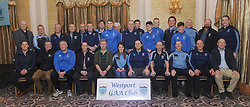 Westport Bord na nOg coaches in attendance at the club&rsquo;s recent presentation night.<br /> Pic Conor McKeown
