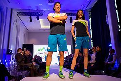 Taiji Tokuhisa at Official presentation of the Designer wear for Slovenian Athletes at PyeongChang Winter Olympic Games 2018, on December 19, 2017 in Grand Hotel Union, Ljubljana, Slovenia. Photo by Urban Urbanc / Sportida