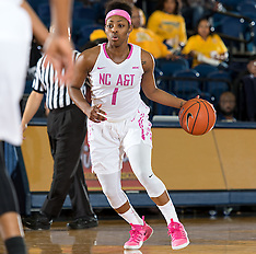 2016-17 A&T Women's Basketball vs SC State