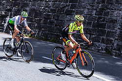 10.07.2019, Fuscher Törl, AUT, Ö-Tour, Österreich Radrundfahrt, 4. Etappe, von Radstadt nach Fuscher Törl (103,5 km), im Bild v.l.: Ben O'Connor (Team Dimension Data, AUS), Dayer Quintana (Neri Selle Italia KTM, COL) // during 4th stage from Radstadt to Fuscher Törl (103,5 km) of the 2019 Tour of Austria. Fuscher Törl, Austria on 2019/07/10. EXPA Pictures © 2019, PhotoCredit: EXPA/ JFK