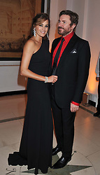 SIMON & YASMIN LE BON at the Harper's Bazaar Women of the Year Awards 2011 held at Claridge's, Brook Street, London on 7th November 2011.