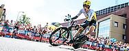04-07-2015: Wielrennen: Grande Depart: Tour de France: Utrecht<br /> <br /> Robert GESINK<br /> <br /> De 1e etappe van de Tour de France van 2015 was een individuele tijdrit van 13,8 kilometer. De start en finish zijn bij de Jaarbeurs in Utrecht