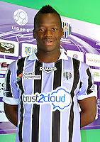 Cheick Fanta Mady DIARRA - 17.09.2013 - Photo Officielle Istres - Ligue 2<br /> Photo : Icon Sport