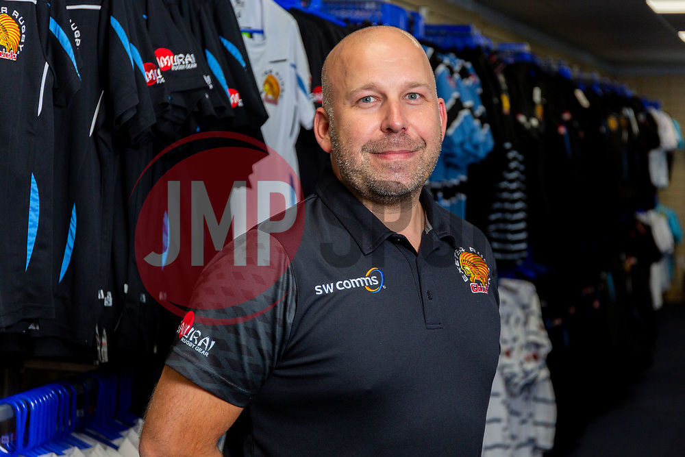 Nick from the Club Shop - Ryan Hiscott/JMP - 06/08/2018 - RUGBY - Sandy Park - Exeter, England - Exeter Chiefs Season Launch Dinner