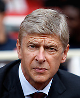 Photo: Richard Lane/Richard Lane Photography. Arsenal v Juventus. Emirates Cup. 02/08/2008. Arsenal's manager, Arsene Wenger.