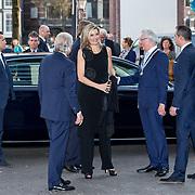 "NLD/Amsterdam/20180418 - Koning en Koningin bij premiere ""Gurre-Lieder"", Koningin Maxima"